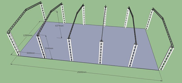 cấu tạo lắp mái xếp hải phòng