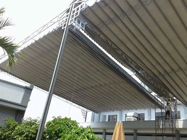 Lắp đặt mái hiên tại Kiến An