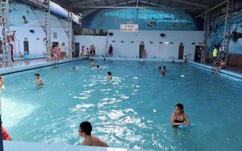 Bể bơi có mái che ở Hải Phòng
