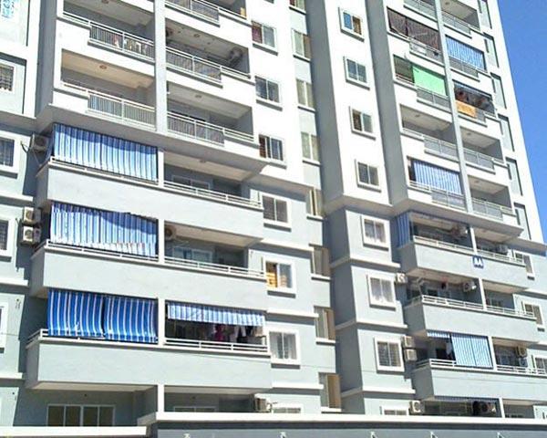 Lắp bạt che nắng nhà chung cư tại Hải Phòng