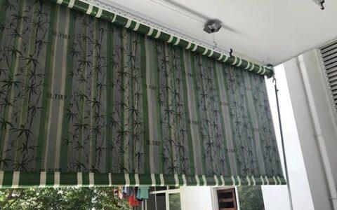 Lắp đặt bạt che nắng nhà chung cư tại Hải Phòng
