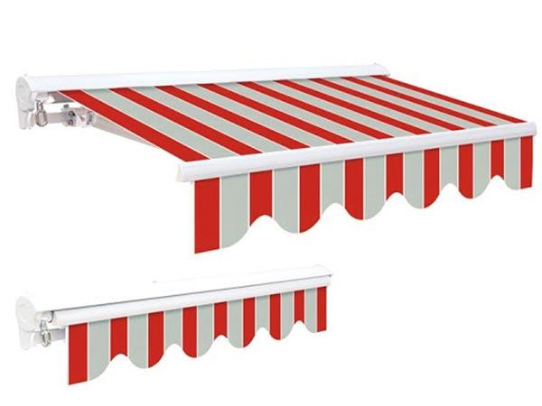 Lắp mái hiên showroom nội thất tại Hải Phòng