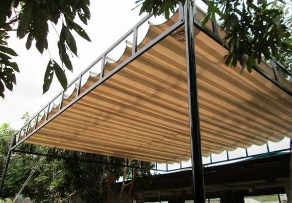 Lắp mái xếp giá rẻ tại Bắc Ninh