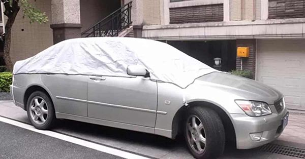 Bạt phủ ô tô bền đẹp tại Hải Phòng